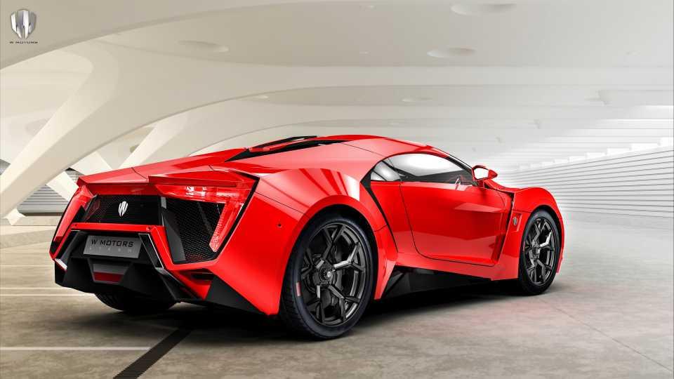 Lykan Hypersport 红色超级跑车4K壁纸
